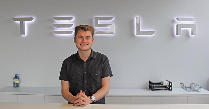 Stephen: Career Prep with Tesla